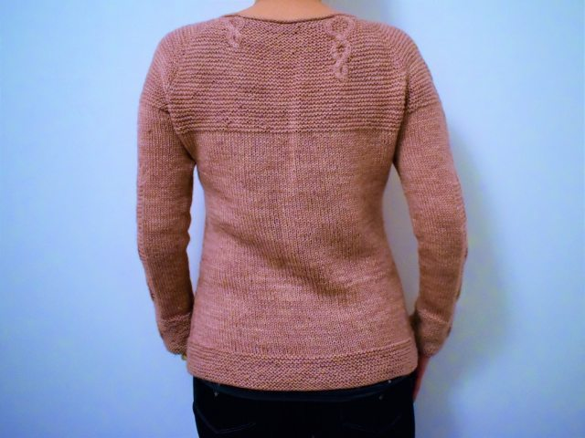 Tricot Pull Baby Cables 2