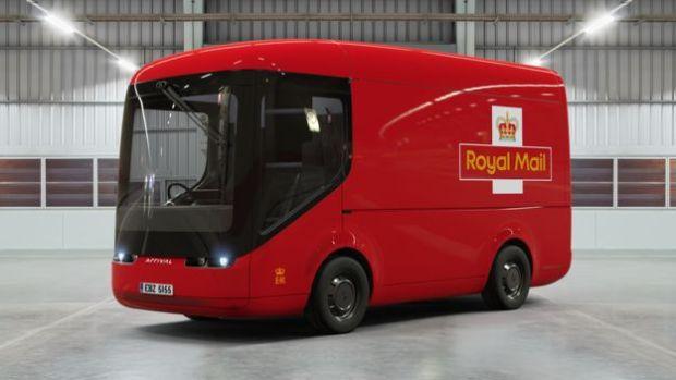 Royal Mail Electric Vans