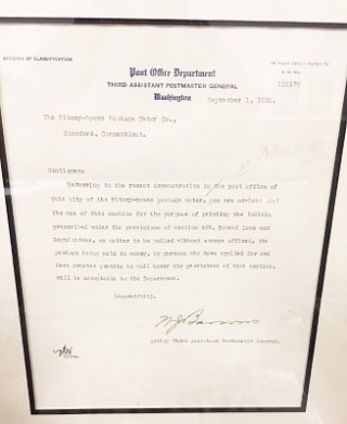 PB letter-from-postmaster-september-1920