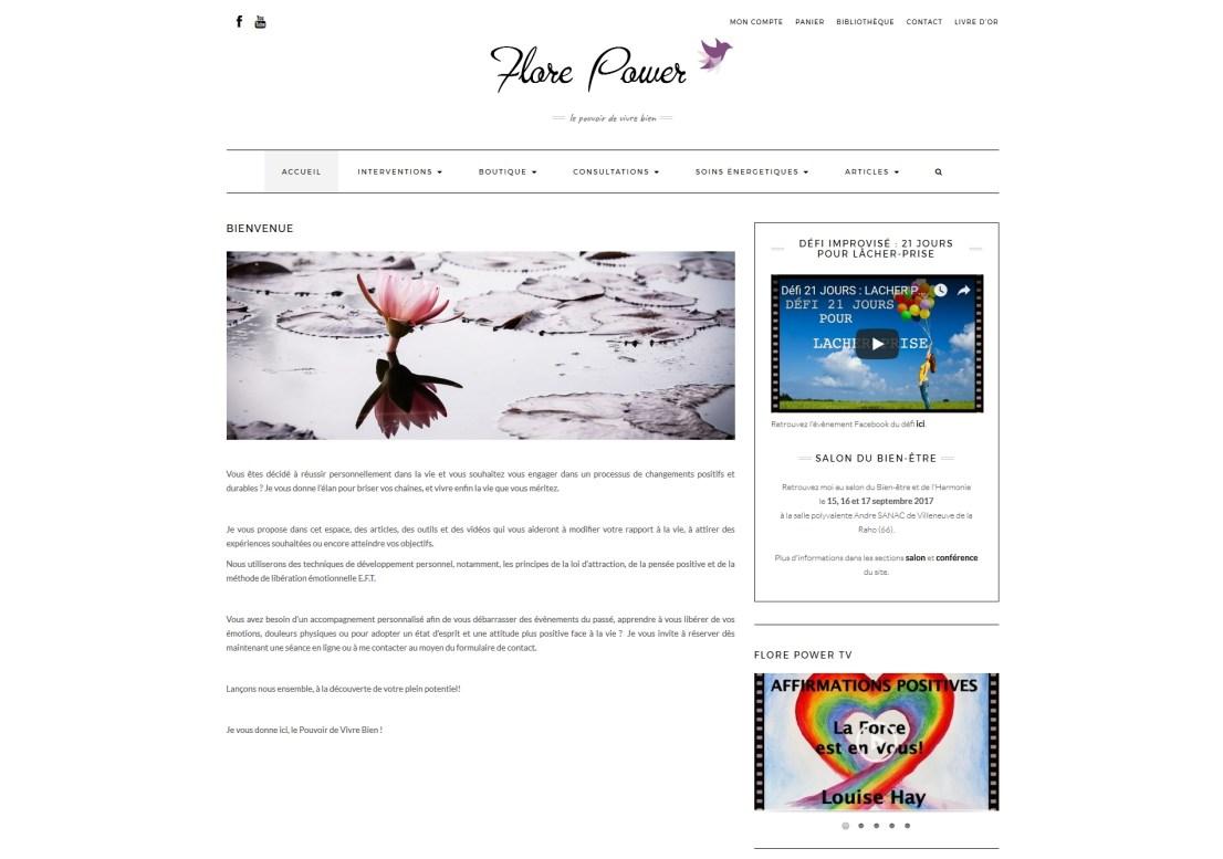 Site Internet Flore Power