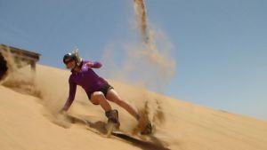 Geli-Sandboarding
