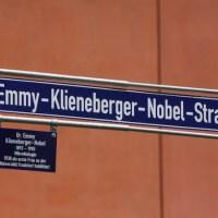 Straßen nach Naturwissenschaftlern der Goethe-Universität benannt