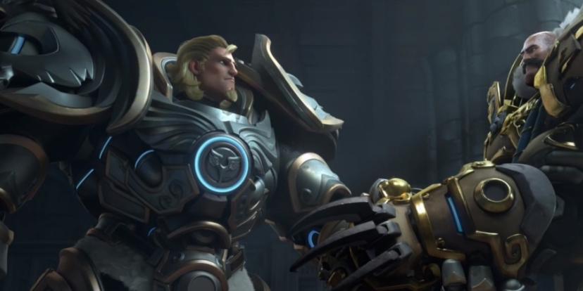 BlizzCon 2017 Dcouvrez Le Nouveau Court Mtrage Danimation Gloire Et Honneur Overwatch