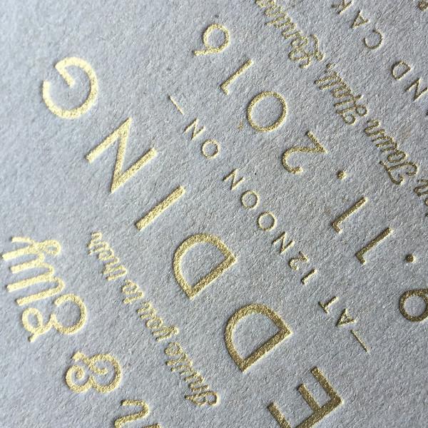 Letterpress Bronzing Powders