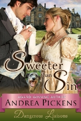 Cover for Sweeter Than Sin by Andrea Pickens