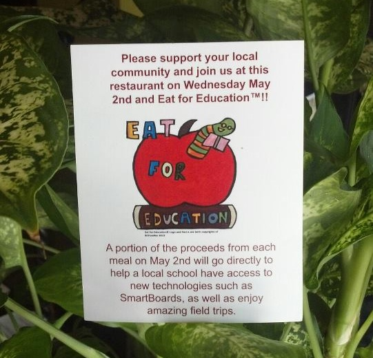 eat for education main street