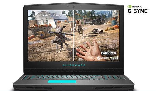 laptop game dell alienware ic power
