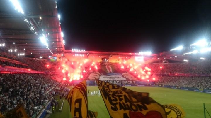 Pyroshow Legia Warschau