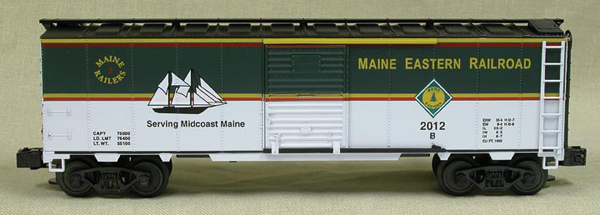 2012 Maine 3-Railers Club Car