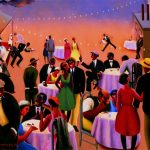 "Archibald Motley, ""Barbecue"", 1934"