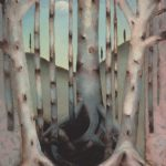 """Bruises and Boundaries, Oil on Panel, 31""""X23"""" 1994-5"""