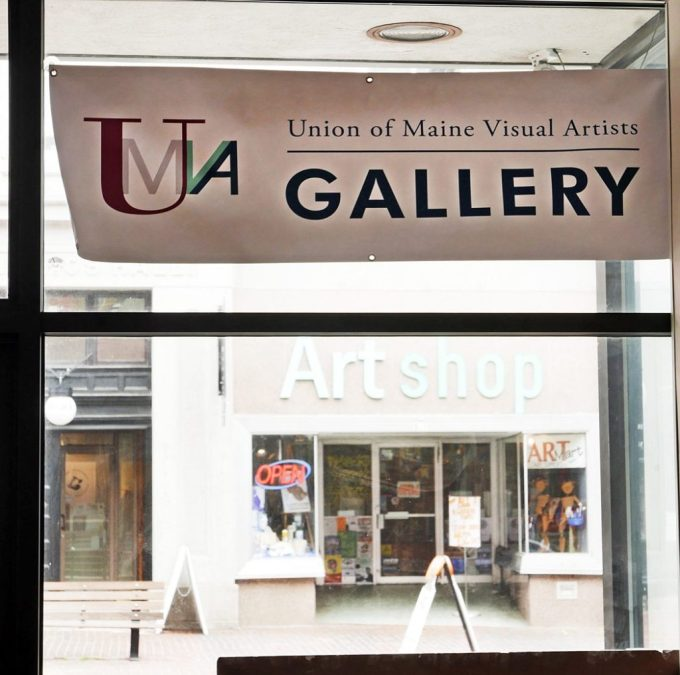 F17 Potland Chapt UMVA Gallery sign