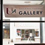 UMVA Gallery at CTN. sign at 516 Congress St.