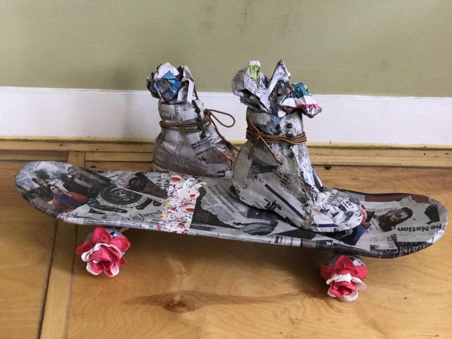 Ripton 17 Titi de Baccarat  Skateboard  Mixed Materials 2018 copy
