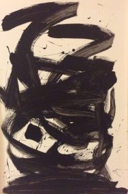 Kifah Abdulla, Love, Acrylic on paper board, 24x36