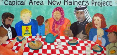Banner creadted in January for Capital Area New Mainers Project.