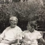 Jacob Kantrowitz and grandson, Richard Kane