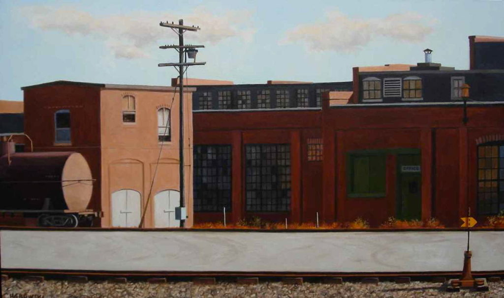 Industrial Landscapes  —  A Curator's Experience by Janice Moore