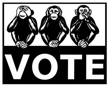 vote ShowsKJ See No Evil cut Paper