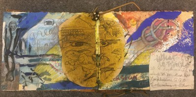 Member Submissions: Kay Carter, Alan Crichton, Crichton and Abby Shahn collaborative sketchbook