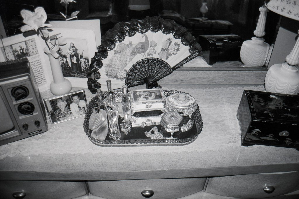"Gray, ""Bureau Top"", silver gelatin print, various (35mm film), 2002"