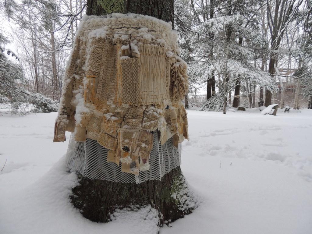 Kris Sader, Medallion Wrap Skirt for Honey Locust Back