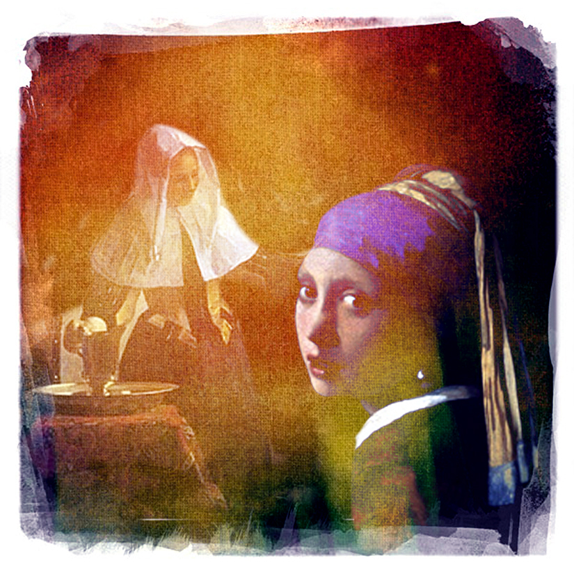 MS Tracy Homage Vermeer copy