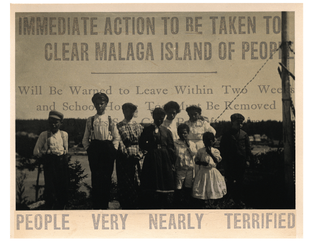 poetry bouwsma poem about malaga island photo montage by kate philbrick 2009 copy