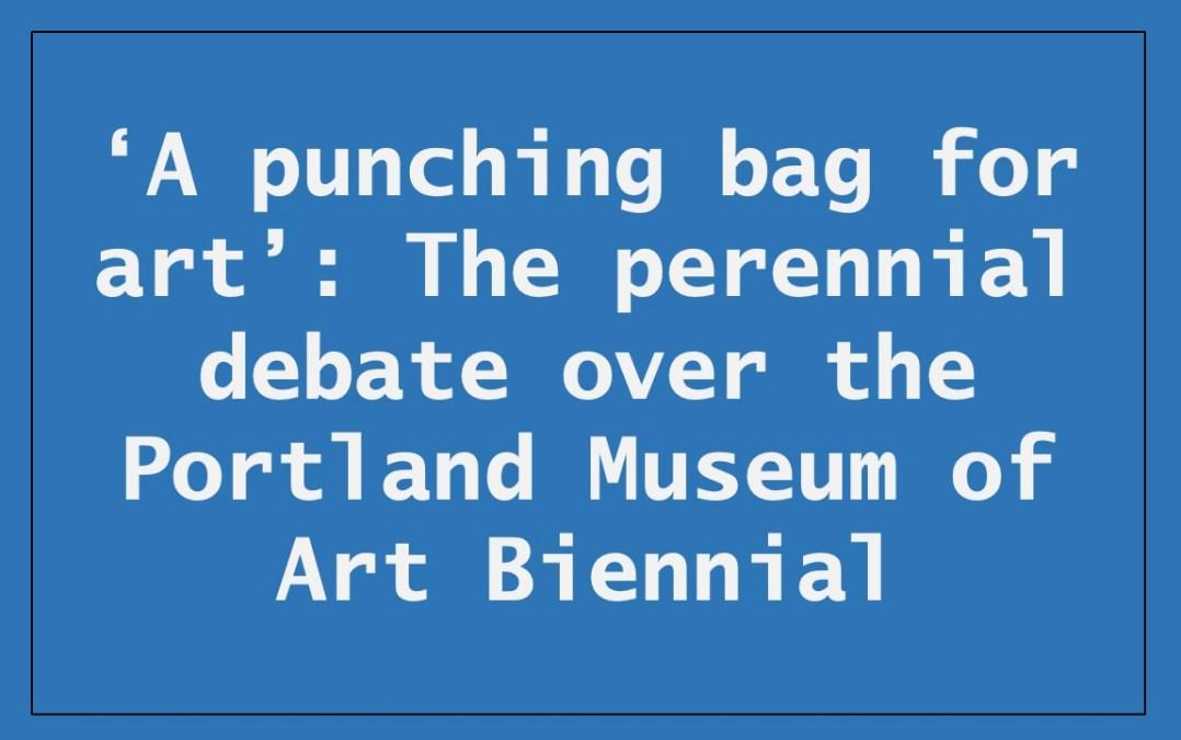 """Edgar Allen Beem – """"A punching bag for art"""""""