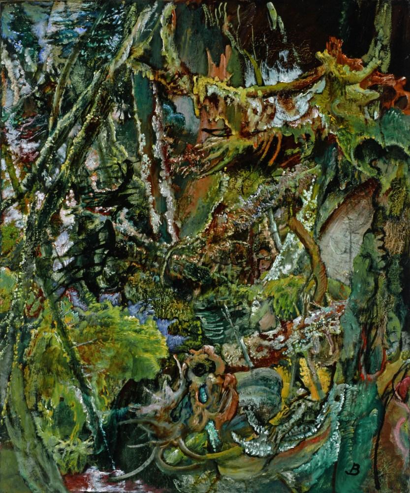 Hyman Bloom, Woods in Lubec, 1986