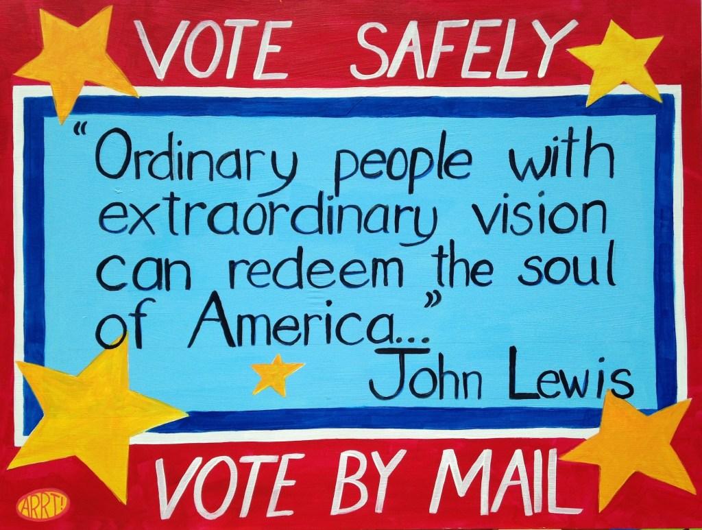arrt john lewis Vote copy