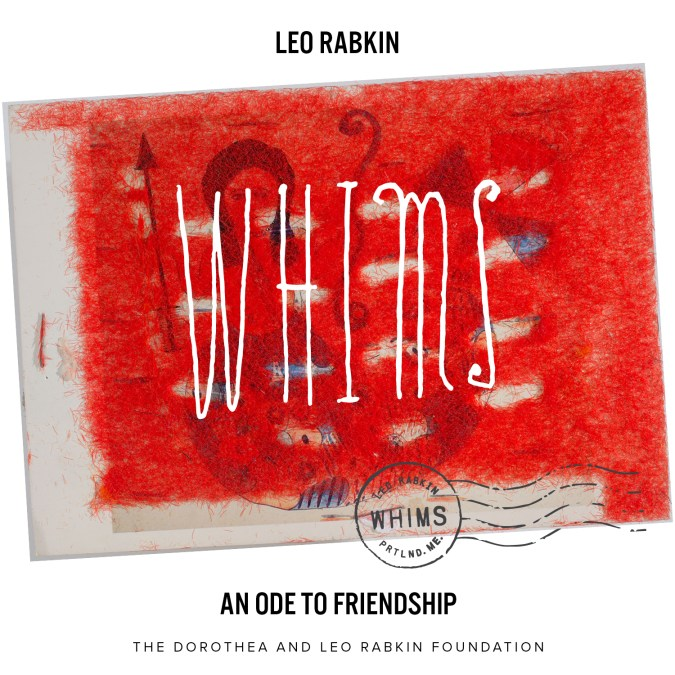 Susan C. Larsen – Leo Rabkin's WHIMS:  An Embrace of the U.S. Postal Service