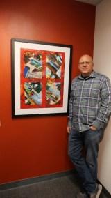 UMVA PORTLAND Greg Burns at the July show Art Matters copy