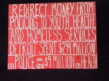 indivisible23 redirect money from policing to youth health homeless services