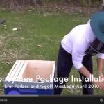 Honey Bee Package Installation