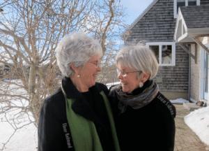 Louise Sullivan and Elinor Redmond
