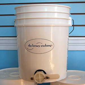 5 Gallon Honey Bucket - Image courtesy of The Honey Exchange