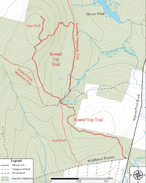 roundtop map