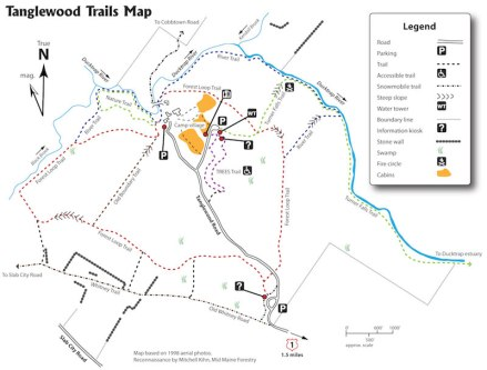 Tanglewood Trail Map