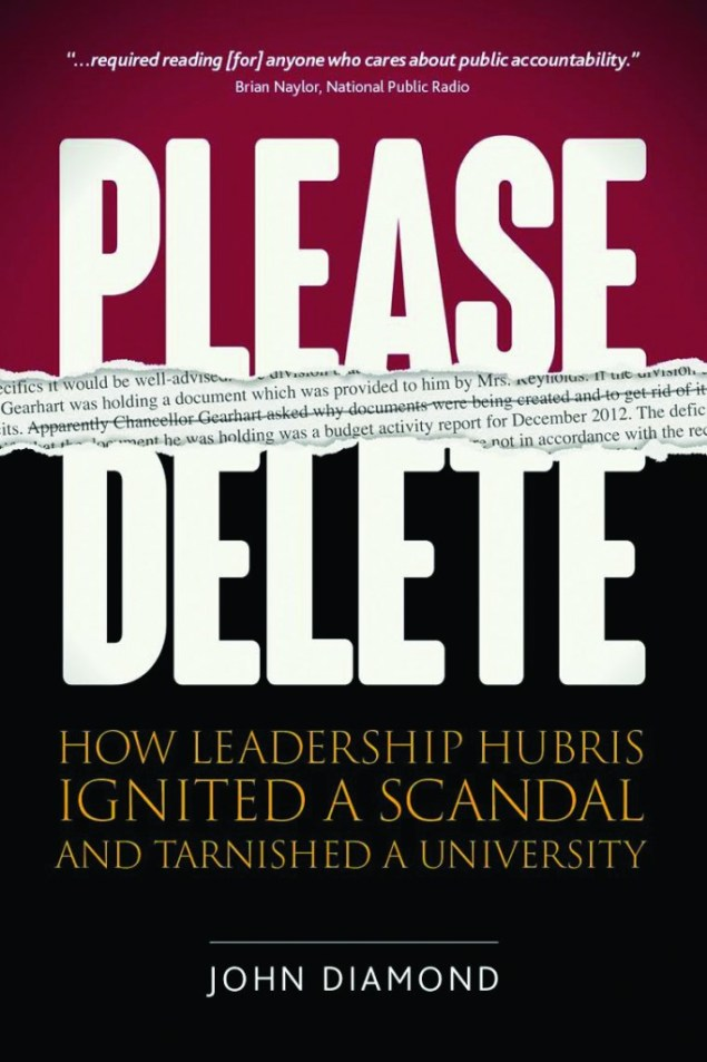 "The cover of ""Please Delete"", by John Diamond."