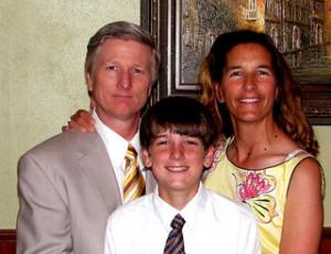 family of teen