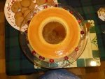 Flan from my Brazilian sister-in-law