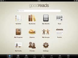 goodreads screen