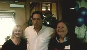 Al, Barb, and Kate at the Maine Literary Awards