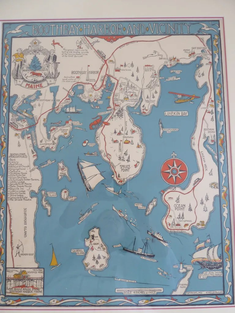 boothbay map