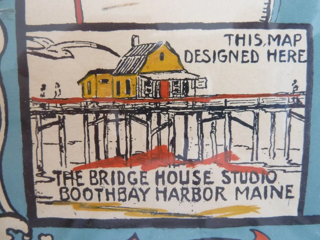 bridge house map