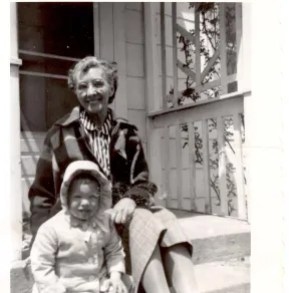 A famous Maine author with her paternal grandmother