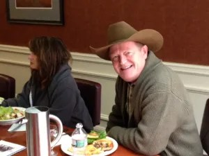 Lunch with Craig Johnson