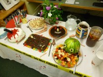 Death and Desserts at the Liberty Library with Lea Wait and Dorothy Cannell