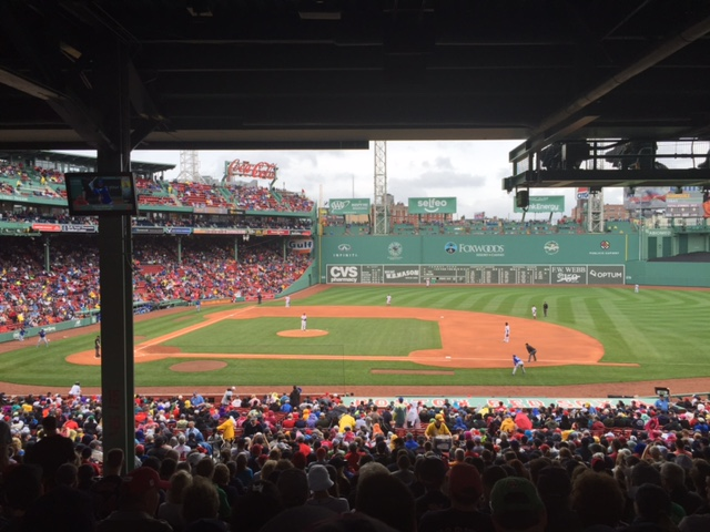 The view from our seats, June 5